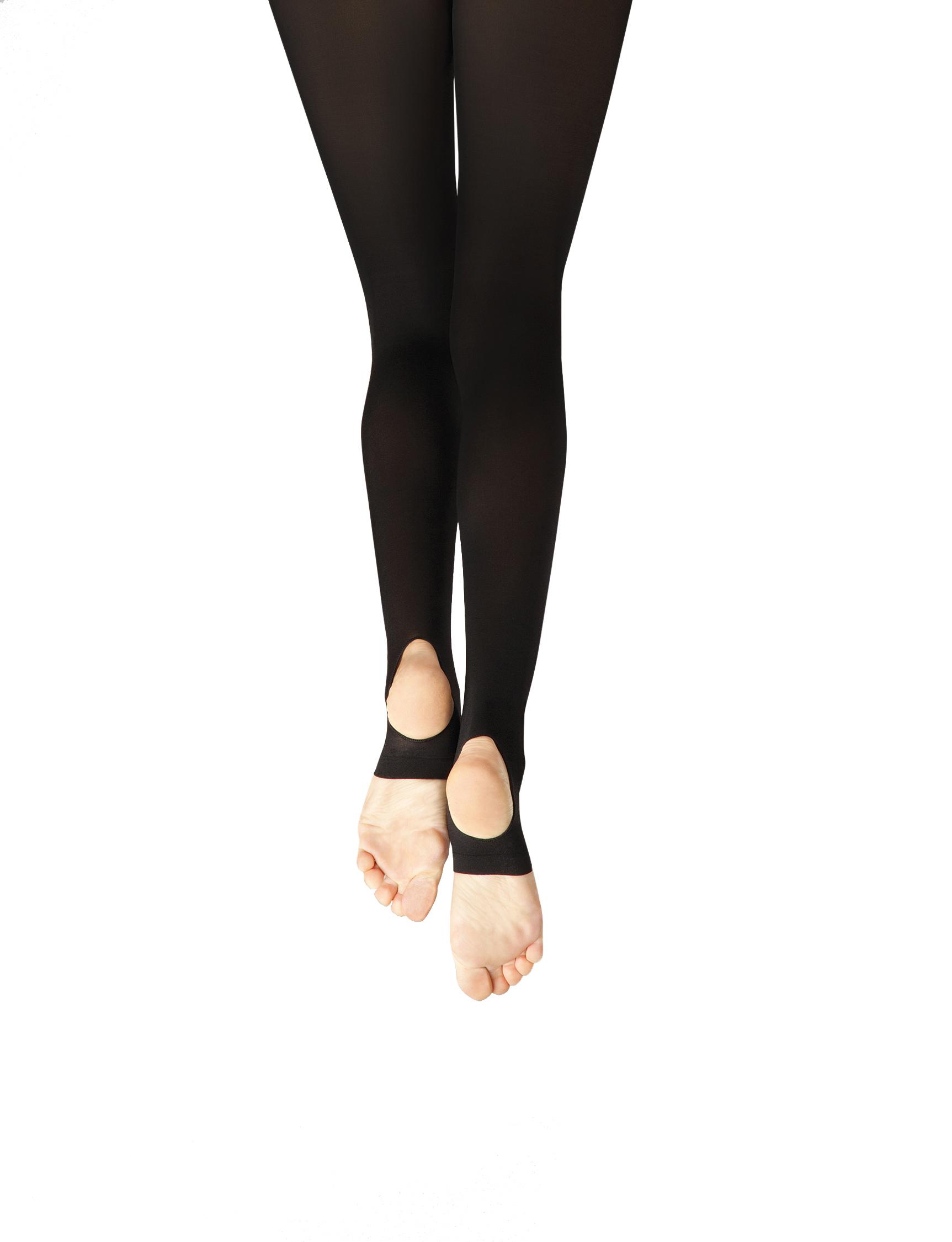 e0fc07fecaabf Capezio Self Knit Waist Stirrup Tight 1961 – Balletomania